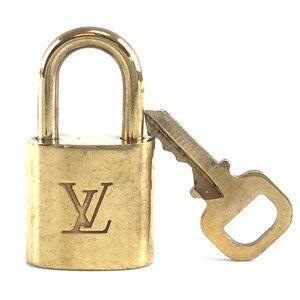 Louis Vuitton Gold Keepall Speedy Lock Key Set#322